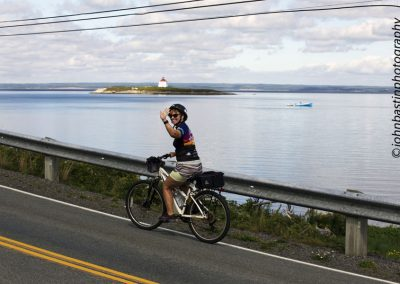 Heading on to Guysborough, only 25 km to go.