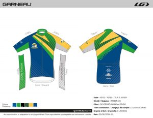 Gran Fondo Guysborough - Jersey Size