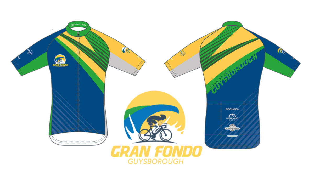 Gran Fondo Guysborough 2019 Jersey Design